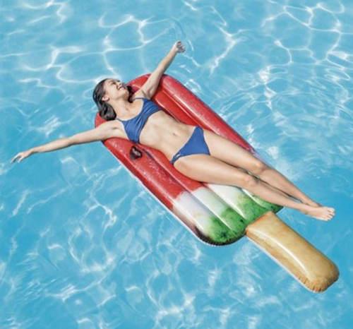 Letní bazenové lehátko Nanuk