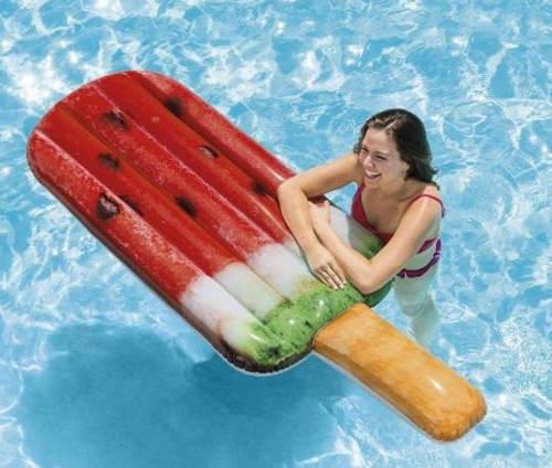 Nafukovací lehátko do bazénu nanuk