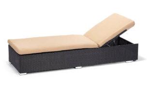 Luxusní lehátko/lavice z umělého ratanu