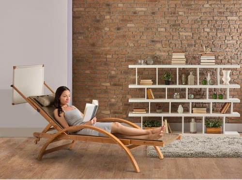 Relaxační lehátko do interiéru i exteriéru