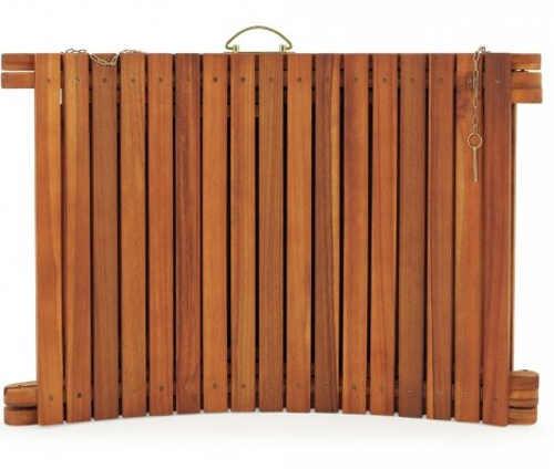 Skládací lehátko z masivního dřeva