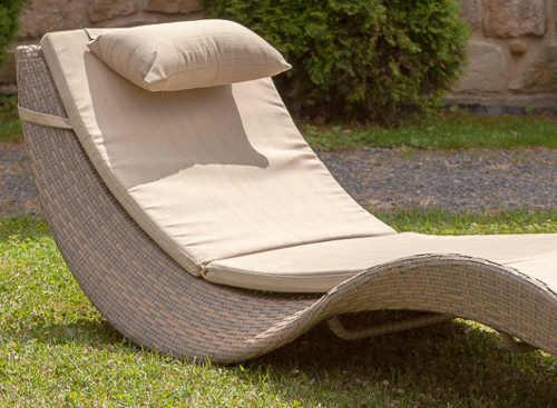 Relaxační wellness lehátko