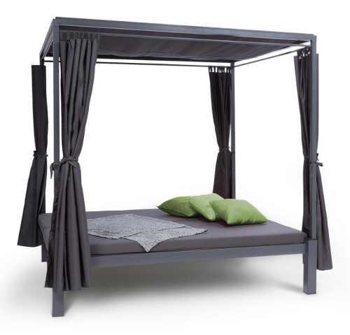 Relaxační zahradní postel s altánem