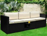 Luxusní zahradní pohovka s polstrováním