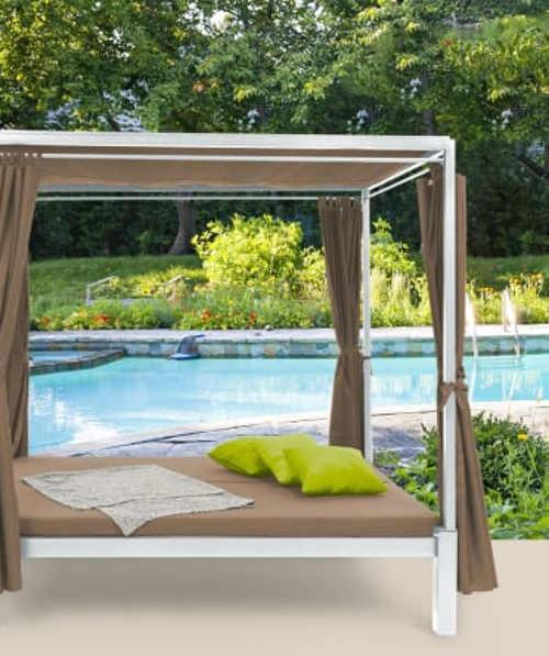 Originální lehátko zahradní pro relax