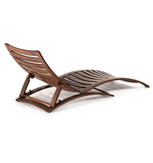 moderní lehátko ze dřeva