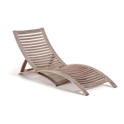 Relaxační lehátko z exotického dřeva